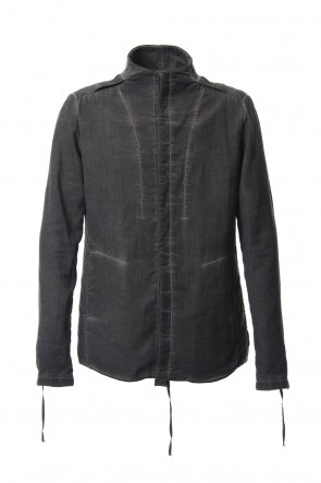 SADDAM TEISSY 18-19AW Double weave twill cold dyed shirt Jacket