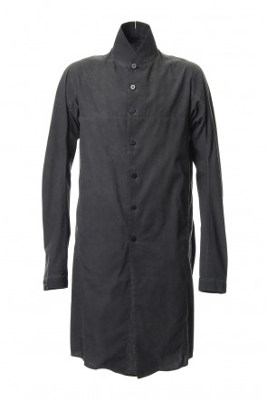 SADDAM TEISSY19SSCold die broad embroidered long shirt - ST102-0029S