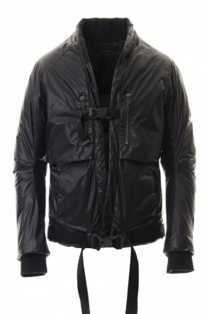 SADDAM TEISSY 20-21AW Carbon coating Nylon down Bomber jacket