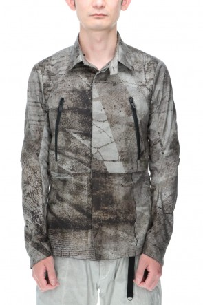 D.HYGEN 21SS Printed shirt jacket
