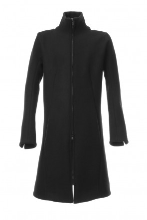 SADDAM TEISSY 19-20AW Antwerp melton High neck coat - ST106-0019A