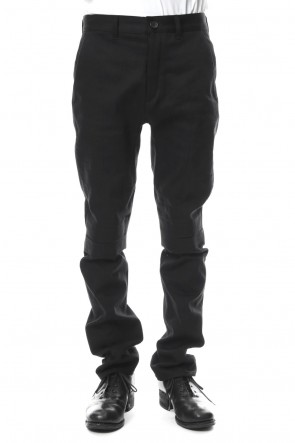 SADDAM TEISSY 18-19AW 10oz Stretch Denim Semi Curve Trousers