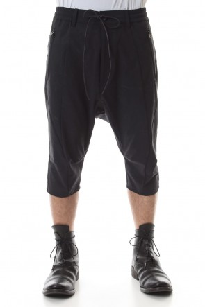 D.HYGEN20SSReflective Coated 4-Way Stretch Nylon Drop-Cropped Shorts