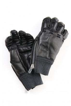 D.HYGEN 20-21AW Horse Leather Technical Glove