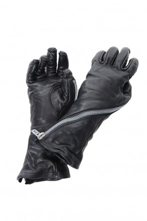 SADDAM TEISSY 19-20AW Horse Leather Zip Long Gloves - ST108-0089A