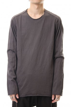 WARE 19-20AW Extra Long Staple Cotton L/S T-shirts M.Gray