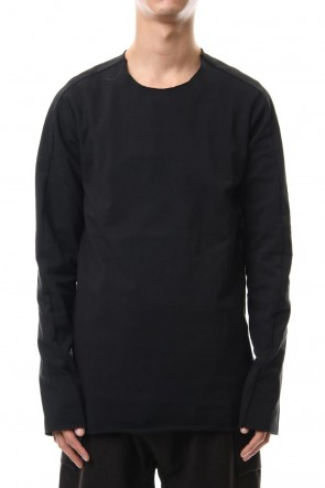 WARE 19-20AW Aegean Sea Cotton  L/S T-Shirts Black