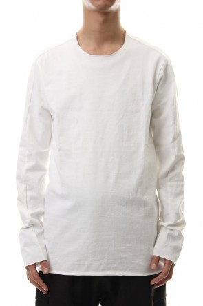 WARE 19-20AW Aegean Sea Cotton  L/S T-Shirts White