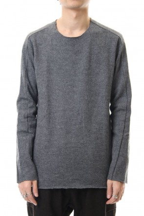 WARE 19-20AW Stretch Wool Jersey Crew Knit