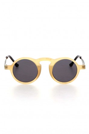 RIGARDS 21SS UW0008 UMA WANG x RIGARDS Genuine Horn Amber Sun Lens