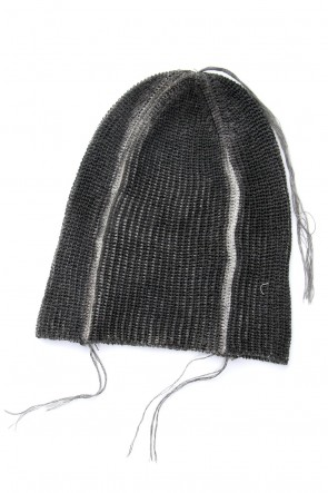The Viridi-anne 18SS Knit Cap Charcoal