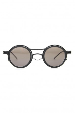 The Viridi-anne 20-21AW RIGARDS collaboration sunglasses - Black / Black