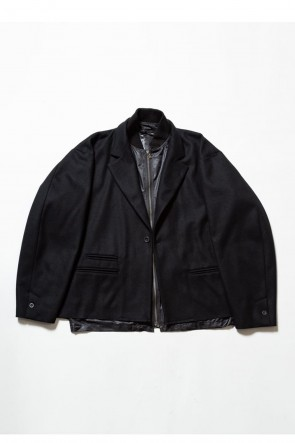 The Viridi-anne 19-20AW Coating Flannel Jacket