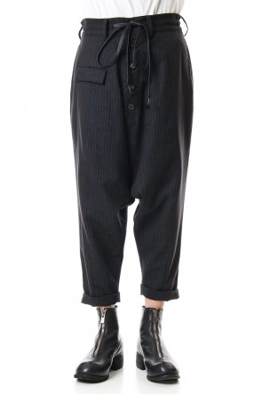 The Viridi-anne 19-20AW Random Stripe Sarrouel Pants