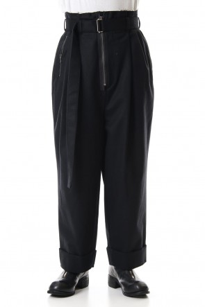 The Viridi-anne 19-20AW Coating Flannel HAKAMA Pants