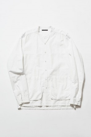 The Viridi-anne19-20AWCotton Line Pull Over Shirt
