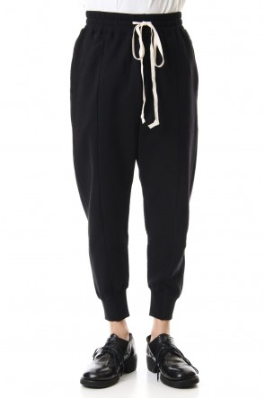 The Viridi-anne 19-20AW Fleece Lining Combination Pants - Black