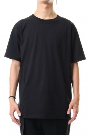 The Viridi-anne 19-20AW Side Pocket T-Shirts - Black