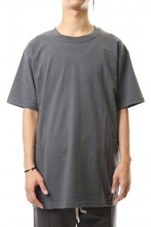 The Viridi-anne 19-20AW Side Pocket T-Shirts - Gray