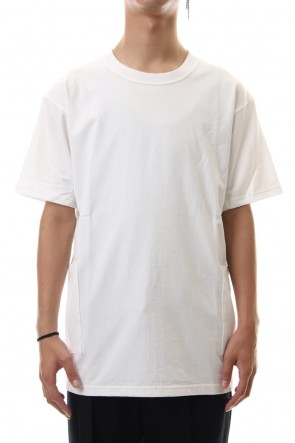 The Viridi-anne 19-20AW Side Pocket T-Shirts - White