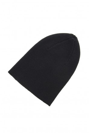 The Viridi-anne 19-20AW Cashmere Merino wool Knit cap - Black