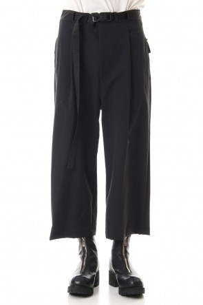 The Viridi-anne 20SS Water-repellent Stretch Wide Cropped pants