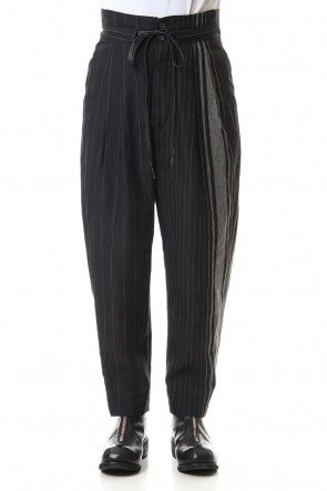 The Viridi-anne 20SS Random stripe Full length pants