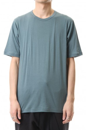 The Viridi-anne 20SS Cotton cashmere Short sleeve T-shirt Turquoise
