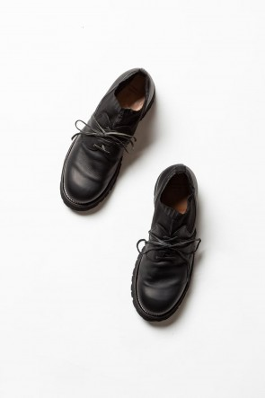The Viridi-anne20SSGUIDi leather Derby Shoes