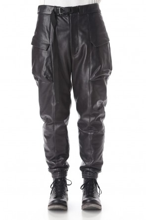 The Viridi-anne 20-21AW Lamb leather Batting pants