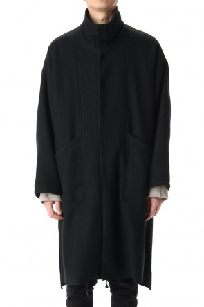 The Viridi-anne 20-21AW Soft Compression Wool Reversible coat