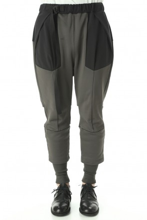 The Viridi-anne 20-21AW Cotton Nylon Fluffy Lining Tactical Pants  Dark-OD