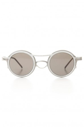 The Viridi-anne 20SS RIGARDS collaboration sunglasses - Silver / White / Black