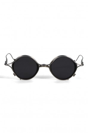 The Viridi-anne21SSRIGARDS collaboration sunglasses Silver