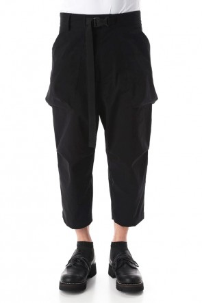 The Viridi-anne 20SS Water-repellent Stretch cloth Cropped pants