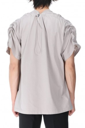 VEIN 21SS Sueded Cotton jersey Vessel S/S Tee Gray