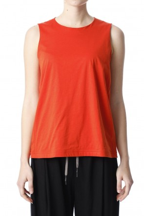 H.R 6 20SS Classic Tank Top Orange for women