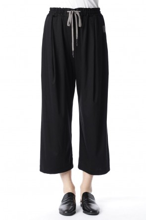 H.R 6 20SS Classic Baggy Pants for women Black