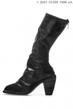 Guidi Classic 3009 - High Heel Middle Back Zip  Boots