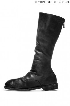 Guidi Classic 411 - Long Back Zip Army Boots