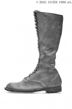 Guidi Classic 412 - Laced Up Long Army Boots