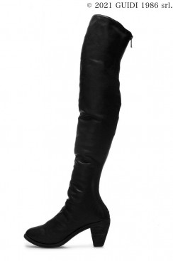 Guidi Classic 5013 - High Heel Back Zip Over-The-Knee Boots
