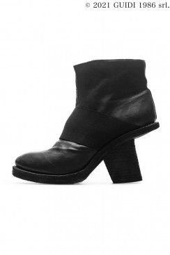 Guidi Classic 6004 - Middle Cut Pump With Oblique Heel