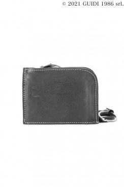 Guidi Classic C11 - Leather Card Holder With Key Ring