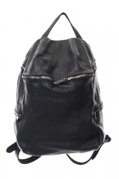 Guidi Classic DBP08 - Large Leather Side-zip Backpack