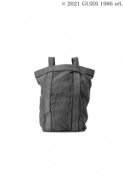 Guidi Classic NBP01 - Leather and Linen Backpack