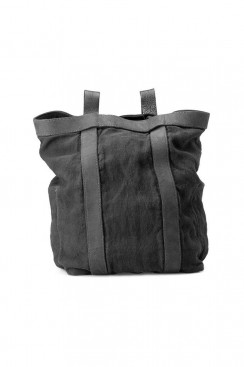 Guidi Classic NBP02 - Large Leather and Linen Backpack