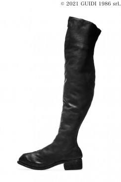 Guidi Classic PL4 - Front Zip Over-The-Knee Boots