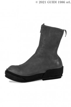 Guidi Classic PLS2 - Front Zip Top-Ankle Sneaker