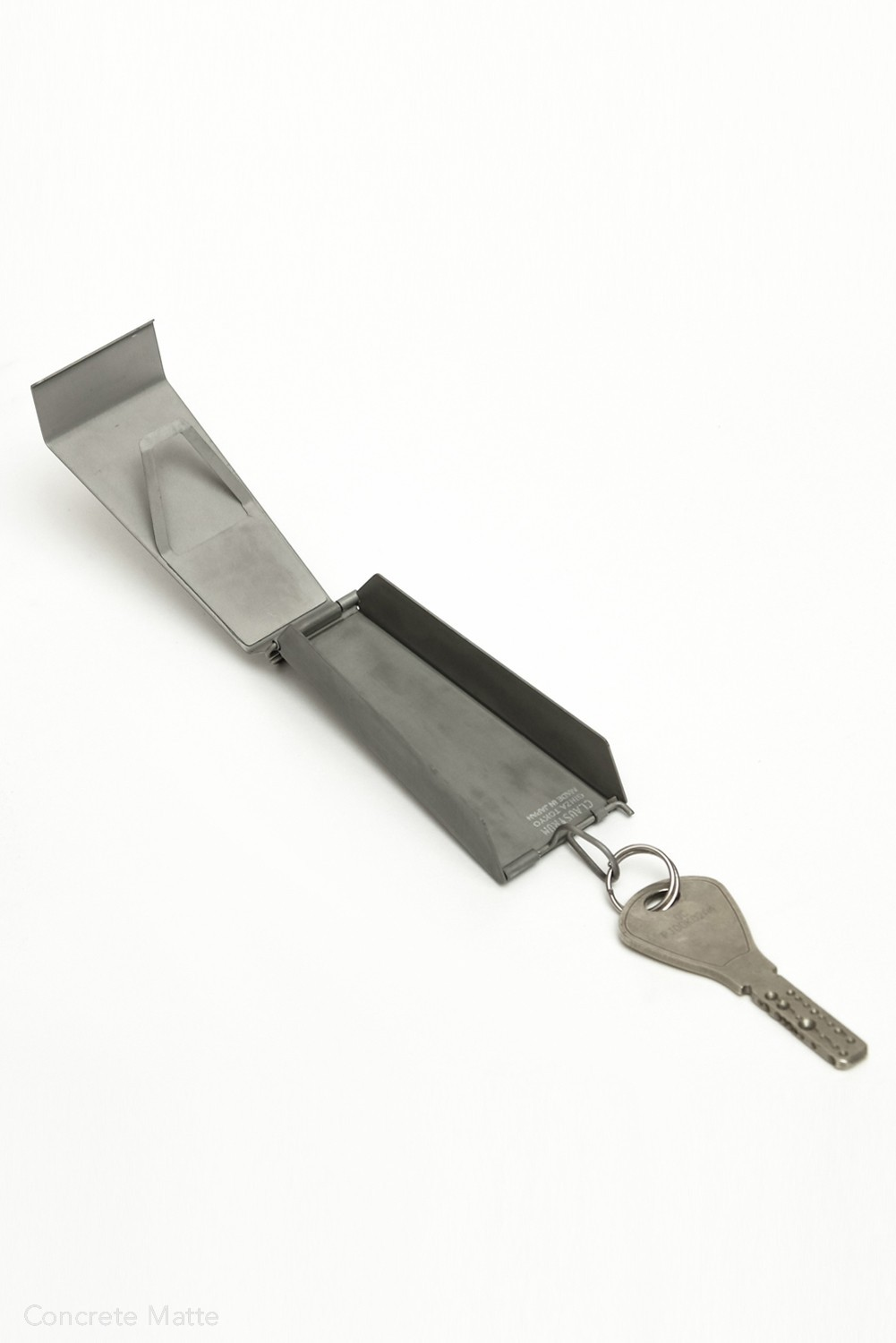 SWING KEY CASE - LEATHER BLACK OUT